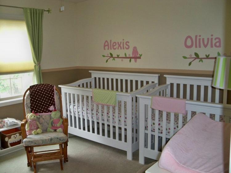 idee chambre de bebe fille - visuel #7