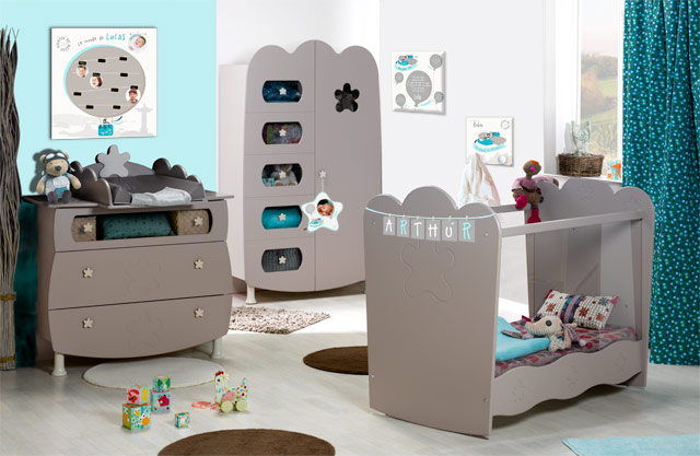 idee deco chambre bebe theme mer visuel 8. Black Bedroom Furniture Sets. Home Design Ideas