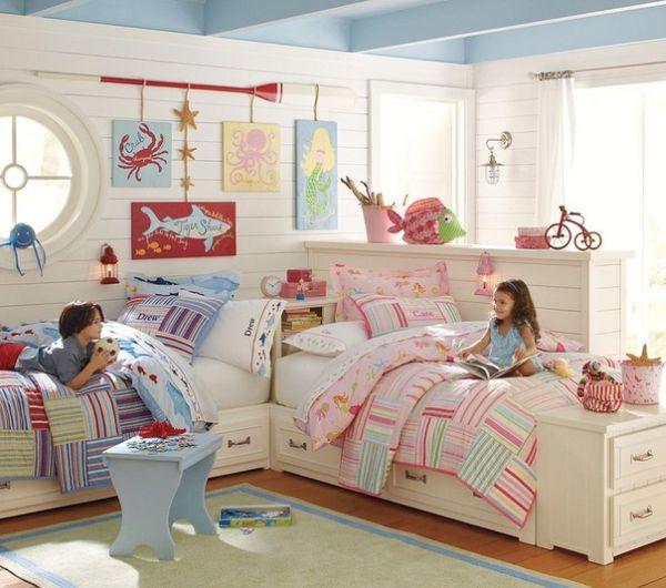 idee deco chambre pour 2 filles