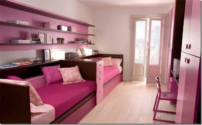 idee deco chambre pour 2 filles - visuel #9
