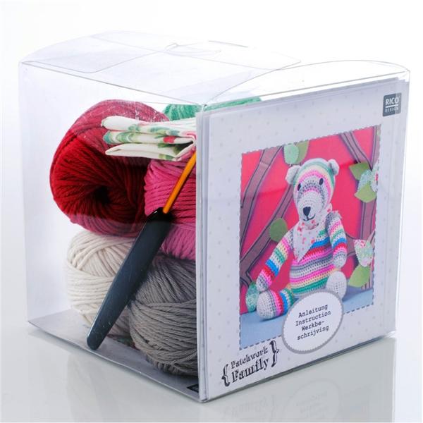 kit doudou au crochet