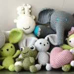 kit doudou au crochet