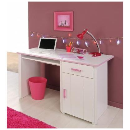 bureau pour petite fille visuel 3. Black Bedroom Furniture Sets. Home Design Ideas