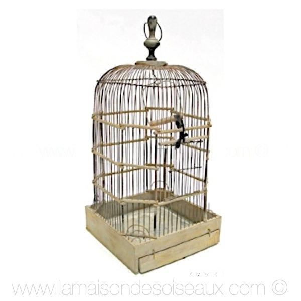 cage oiseaux decorative ancienne visuel 8. Black Bedroom Furniture Sets. Home Design Ideas