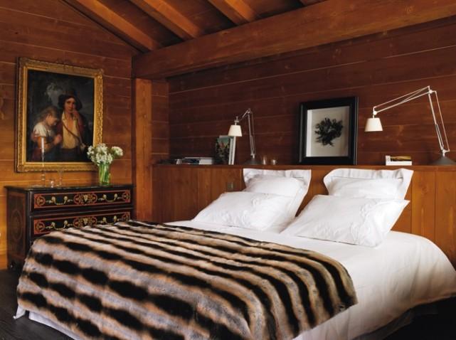 Chambre deco chalet visuel 5 for Deco chambre style chalet