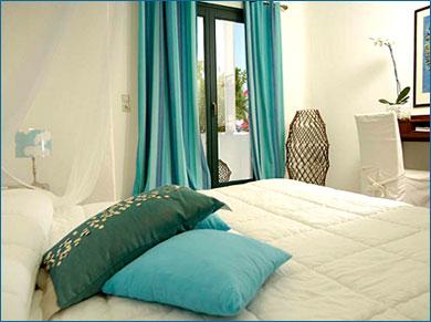 Chambre Deco Turquoise U2013 Visuel #4. «