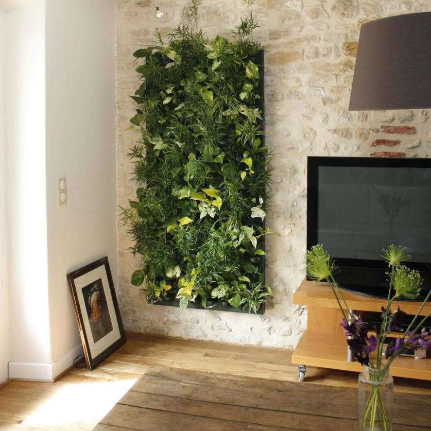 chambre deco vegetale visuel 6. Black Bedroom Furniture Sets. Home Design Ideas