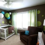 deco chambre bebe bleu et vert