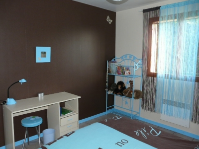 chambre turquoise et marron solutions pour la d coration. Black Bedroom Furniture Sets. Home Design Ideas