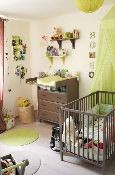 deco chambre garcon gris et vert - visuel #3