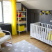 deco chambre gris et jaune