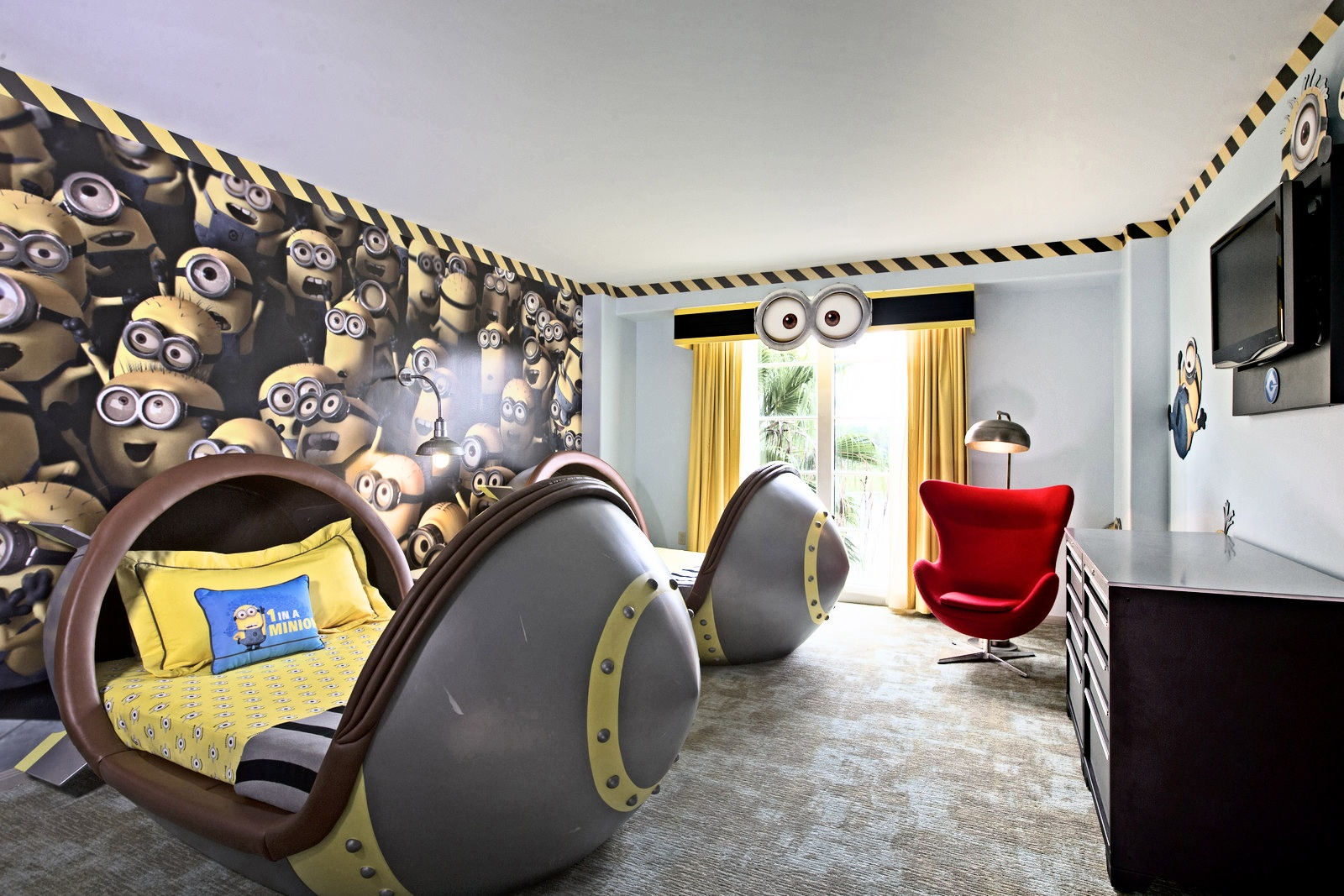 Deco chambre theme cinema for Theme deco maison