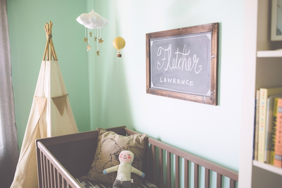 deco chambre vert menthe - visuel #3