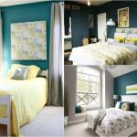 deco de chambre en bleu
