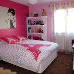 Deco de chambre jeune fille for Decoration chambre jeune fille