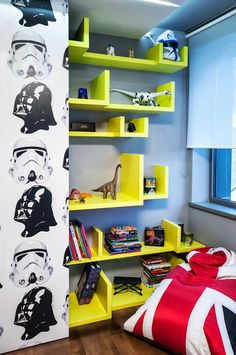 deco de chambre star wars. Black Bedroom Furniture Sets. Home Design Ideas