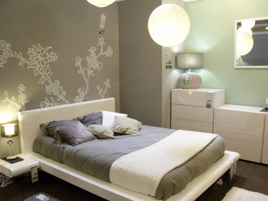 decoration chambre a coucher peinture visuel 8