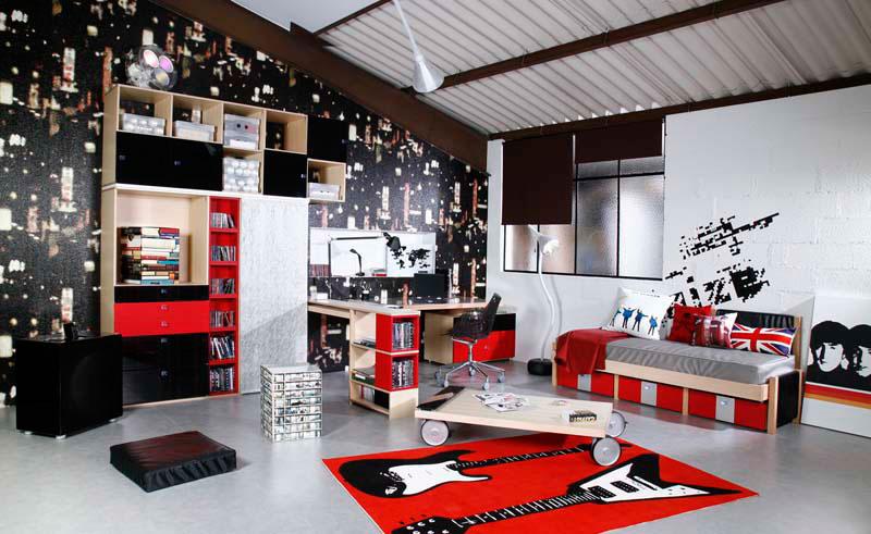 Decoration Chambre Ado London Visuel 1
