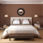 decoration chambre adulte marron