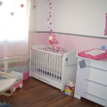 decoration chambre bebe rose