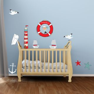 Decoration chambre bebe theme marin for Theme chambre enfant
