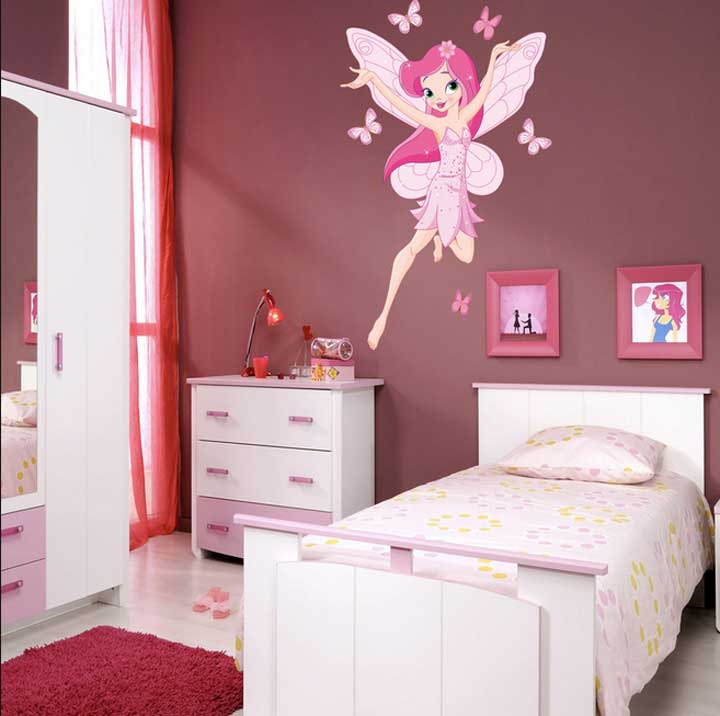 Decoration chambre de fille 2016 for Deco de chambre fille