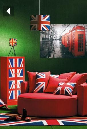 decoration chambre drapeau anglais - visuel #2