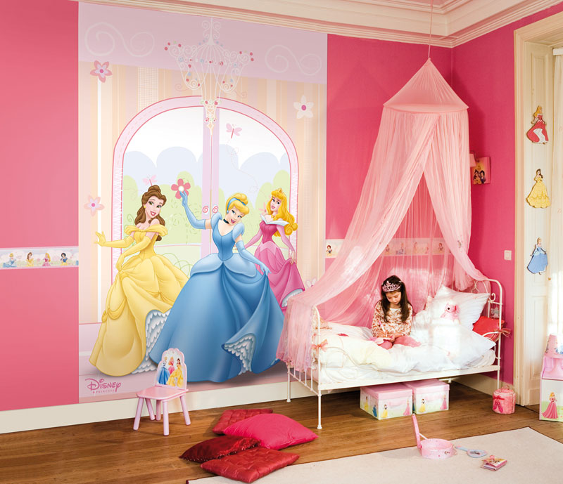 decoration chambre fille en princesse visuel 2. Black Bedroom Furniture Sets. Home Design Ideas