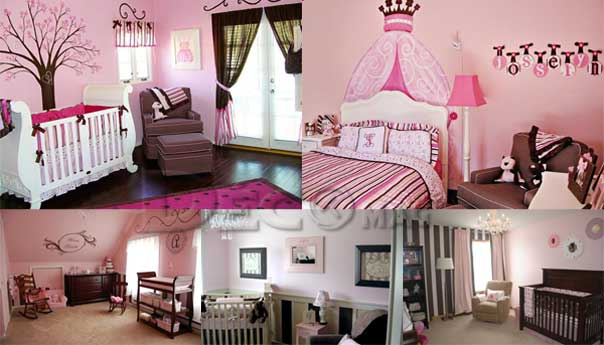 decoration chambre fille en princesse. Black Bedroom Furniture Sets. Home Design Ideas