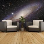 decoration chambre galaxy
