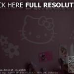 decoration chambre kitty