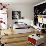 decoration chambre moderne ado