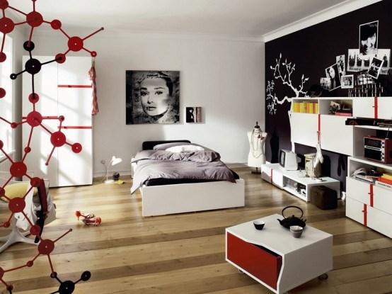 decoration chambre moderne ado - visuel #4