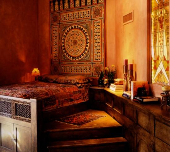 decoration chambre orientale peinture - visuel #8
