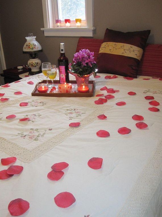 Decoration chambre pour soiree romantique visuel 3 - Decoration romantique chambre ...