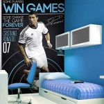 decoration chambre real madrid