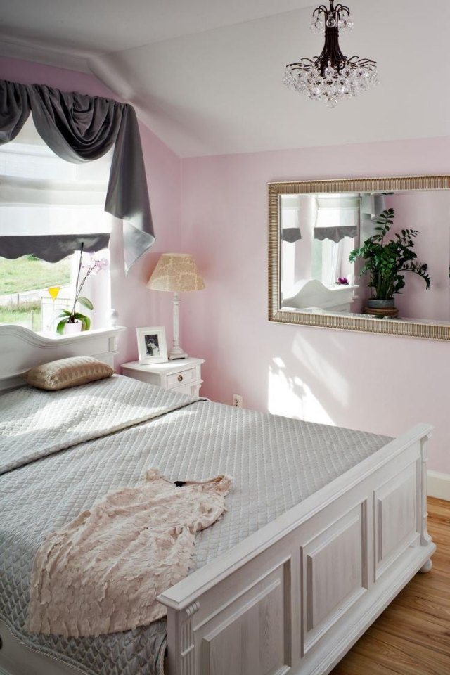 Decoration chambre rose pale visuel 3 for Chambre rose pale