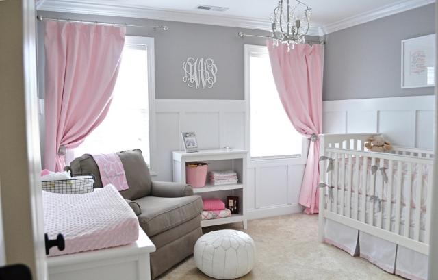 decoration chambre rose pale - visuel #5
