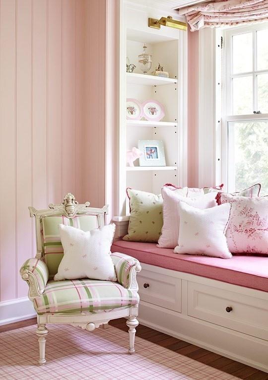 decoration chambre rose pale - visuel #7