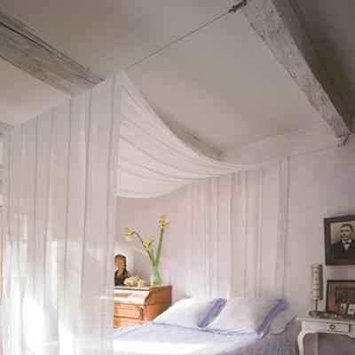 decoration chambre voilage visuel 8