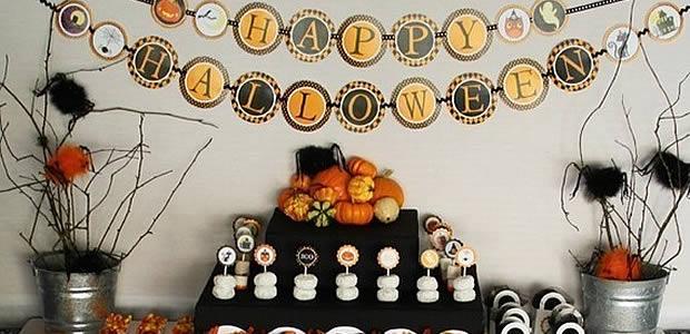 decoration d halloween a faire soi meme visuel 7. Black Bedroom Furniture Sets. Home Design Ideas