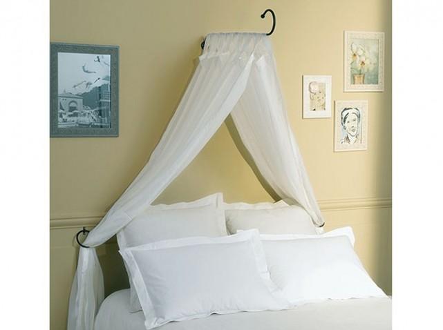 decoration lit avec voilage visuel 4. Black Bedroom Furniture Sets. Home Design Ideas
