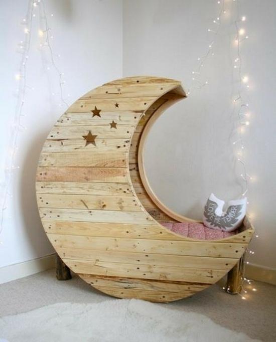 lit junior bebe lune visuel 5. Black Bedroom Furniture Sets. Home Design Ideas