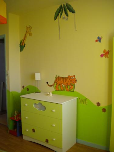 photo chambre bebe vert anis - visuel #5