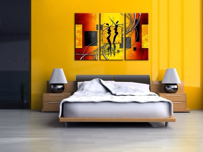 model de peinture pour chambre a coucher couleur chambre. Black Bedroom Furniture Sets. Home Design Ideas