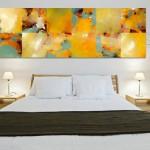 tableau peinture pour chambre a coucher