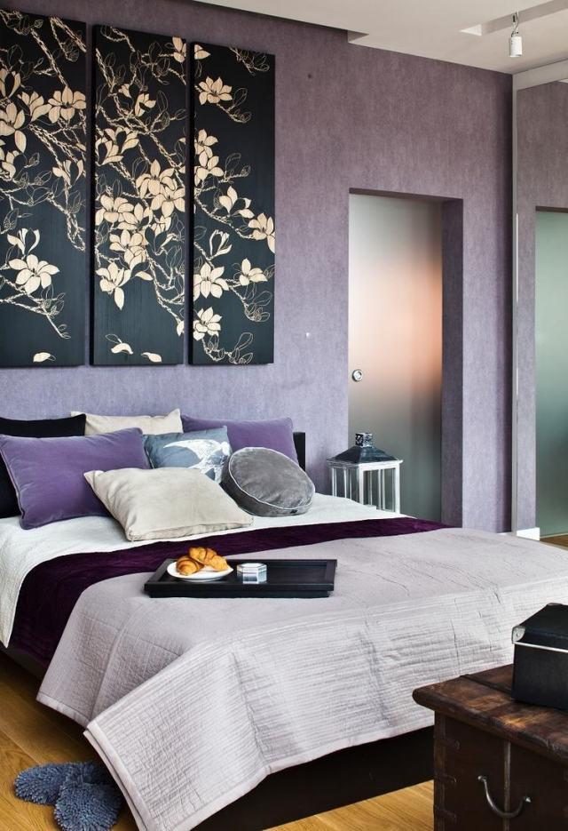 tableau peinture pour chambre a coucher - visuel #1 - Model De Peinture Pour Chambre A Coucher