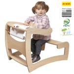 bureau pour bebe en bois