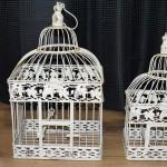 cage oiseaux decorative pas cher