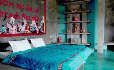 Chambre deco indienne visuel 1 for Decoration chambre hindou